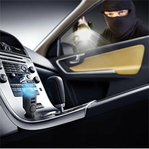 KFZ Auto Alarmanlage mit Fernbedienung und Ladefunktion TECHNAXX TX-100