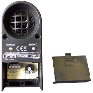 High-performance ultrasonic animal repeller KEMO M175