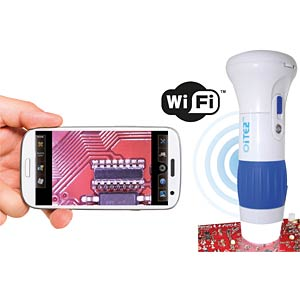 Wi-Fi microscope with app for smartphone/tablet FREI