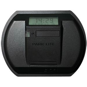 PARK LITE electronic parking disc, black NEEDIT 1412