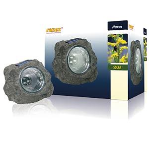 LED-Solarleuchte, Felsen, 0,06 W, grau, IP44 RANEX RA-5000154