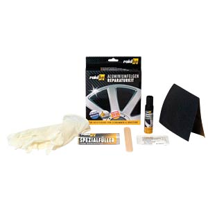 raid hp alloy wheel repair kit, silver RAID 340001