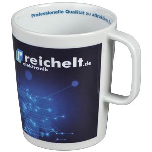 Cup with Reichelt design REICHELT