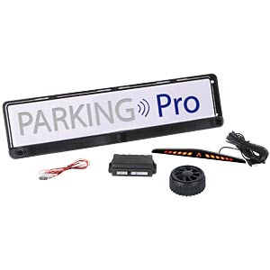 Parking assistant in licence plate bracket MOBISET RFW000700