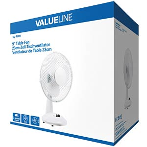"9"" table fan 2-speed VALUELINE VL-FN09"