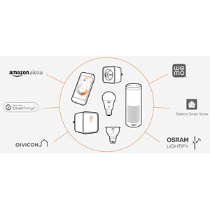 LIGHTIFY starter kit: Gateway + CLA60 OSRAM 4052899929715