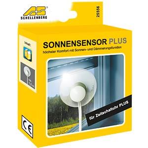 Sonnensensor für Rolladen-Zeitschaltuhr - Plus SCHELLENBERG 25556