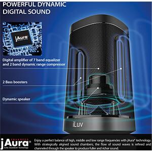 Lautsprecher, Dockingstation, Amazon Echo ILUV AUDDOCKBK
