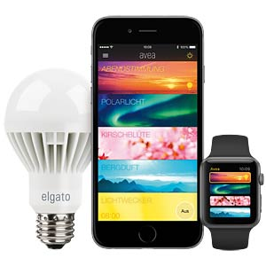 Smart Light, Lampe, E27, Avea ELGATO 1SL108101000