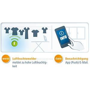 Luftfeuchtemelder Home Control, Z-Wave DEVOLO 9663