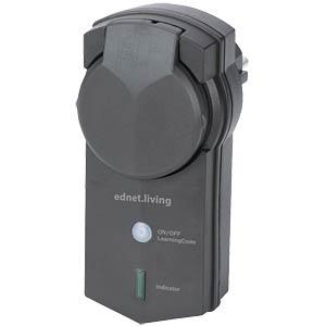Ednet .living Smart Plug für den Außenbereich EDNET 84292