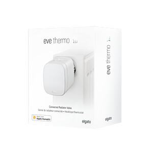 Eve Thermo, Heizkörperthermostat mit Display, Apple HomeKit, 2er EVE SYSTEMS 10EAR1701-2X