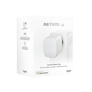 Eve Thermo, Heizkörperthermostat mit Display, Apple HomeKit EVE SYSTEMS 10EAR1701