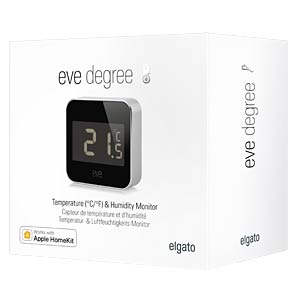 Eve Degree, Temperature & Humidity Monitor ELGATO 10EAF9901