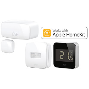 Eve Starter Set: Degree, Motion, Door&Window, Apple HomeKit EVE SYSTEMS