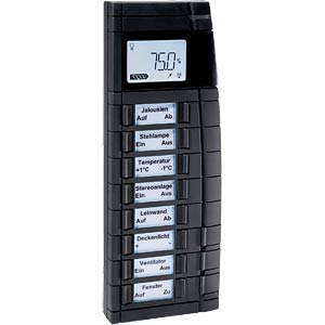 Remote control, 19 buttons, black HOMEMATIC 83361