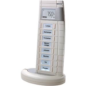 Remote control, 19 buttons, white HOMEMATIC HM-RC-19-WS