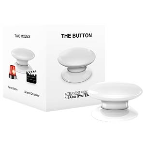Fibaro The Button, weiß, Z-Wave FIBARO FGPB-101-1-EU