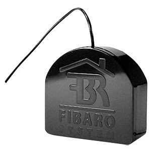 Fibaro flush-mounted relay switch, 1 x 2.5 kW, Z-Wave FIBARO FIBEFGS-212