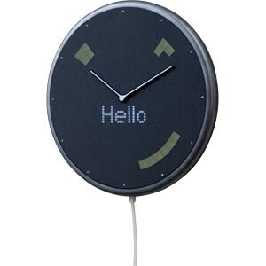 Smart Home Wanduhr, Glance Clock GLANCE CLOCK GC-EU-BLK-01