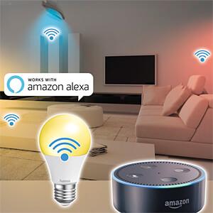 Smart Light, Lampe, E27, 10W, RGBW, EEK A+, WLAN HAMA 00176531