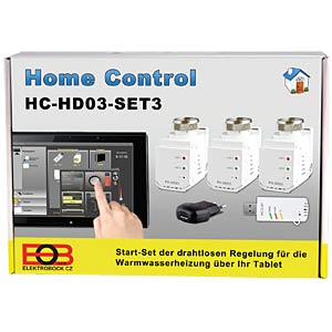 Home Control - starter set for 3 heaters ELEKTROBOCK HC-HD03 SET3