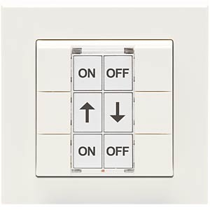 Wireless 6-panel wall-mounted button HOMEMATIC 130113