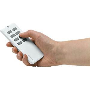 Remote control, 8 buttons, white HOMEMATIC 132747