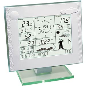 Funk-Wetterstation WDC 7000 HOMEMATIC 83638