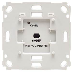 Wireless wall switch, 2-way, brand switch, flush mounting HOMEMATIC 142237