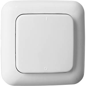SH5-TSW-A wireless wall switch - indoor - white SMARTWARES SH5-TSW-A