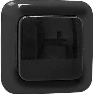 SH5-TSW-C wireless outdoor wall switch - black SMARTWARES SH5-TSW-C