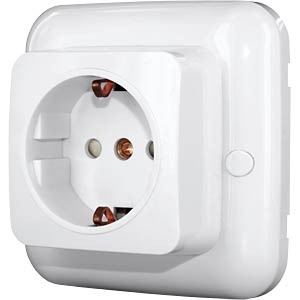 SH5-RBS-23A wireless built-in socket - indoor - white SMARTWARES SH5-RBS-23A