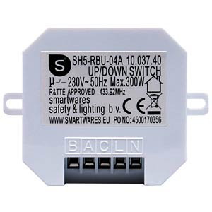 SH5-RBU-04A wireless push-button switch for roller shutters - in SMARTWARES SH5-RBU-04A