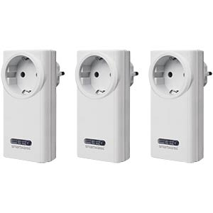 SHS-5100-EU 3x wireless sockets with remote control SMARTWARES SHS-5100-EU