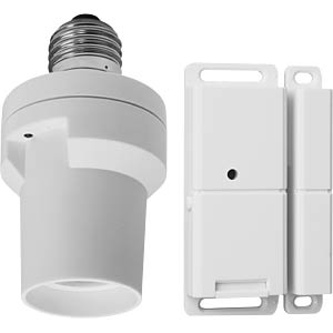 SHS-51001-EU wireless door contact with E27 lamp holder SMARTWARES SHS-51001-EU