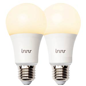 Smart Light, Lampe, E27, 9W, Warmweiß, RB165, EEK A+, 2er Pack INNR LIGHTING BV RB165DUOPACK