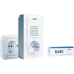 Wireless door chime for sockets M-E FG-2.1