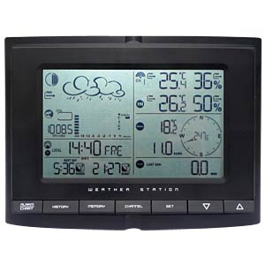 Smartwares SHS-54000 wireless weather station with display SMARTWARES SHS-54000