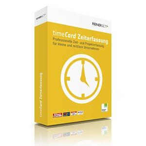 REINER SCT timeCard Zeiterfassungssoftware REINER-SCT 2749650-271