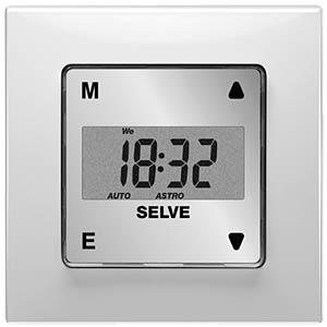 Rollladensteuerung, Zeitschaltuhr mit Astro Programm SELVE 297000