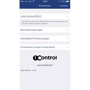 BLUETOOTH® Smart Funk-Türöffner BIOMETRIXX SOLO