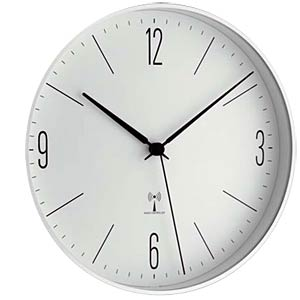 Radio wall clock, Ø198mm TFA DOSTMANN 98.1096