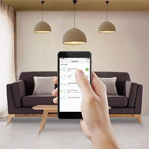 Smart Light, Lampe, E27, 7W, Warmweiß, EEK A+, WLAN TP-LINK LB100