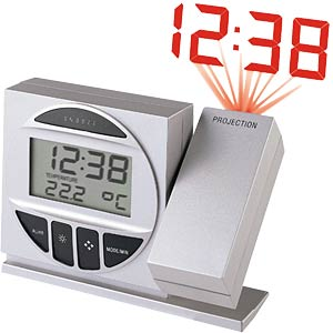 WT 590 radio-controlled alarm clock with projector function TECHNOLINE WT 590