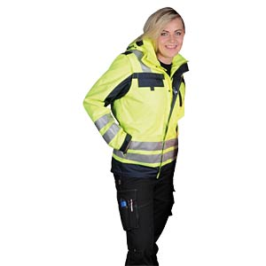 Pilotjacke Göteborg , Gr. 3XL, gelb, unisex K-EQUIPMENT 811348