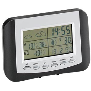 Wireless weather station with comfort zone index MEBUS 40139