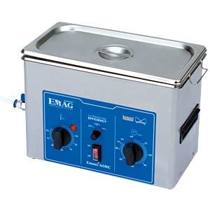 Ultraschallreiniger, 4 l , 250 W, mit Heizung, Edelstahl EMAG EMMI 40 HC