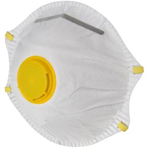 Premium respirator with valve, protection: P1 AVIT AV13033