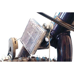 Bicycle front reflector for handlebar stem FILMER 40.054